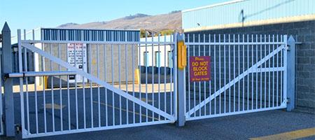 Vernon's secure self storage facility