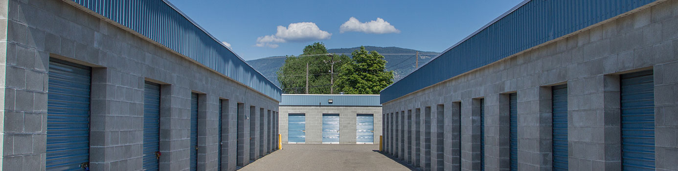 Self-storage in vernon bc
